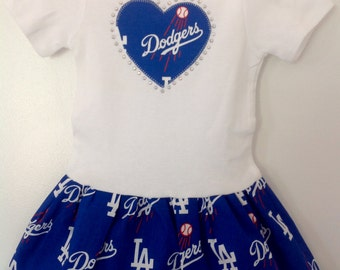LA Dodgers Inspired Dress