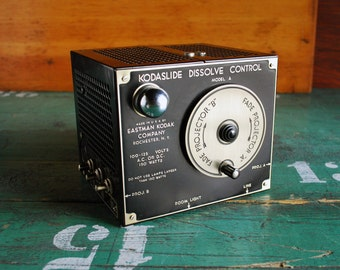 Kodaslide Dissolve Control Model A, Mint Working condition, 1940's Home Movie Gear, New Old Stock