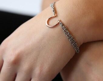 Bonne Chance Chained Bracelet