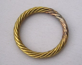 6pcs Soldered Ring 22mm Wire Ring Brass Findings for Fashion Design t045