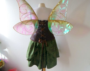 Zarina Tinkerbell Disney Inspired Irridescent Wings Pirate Fairy