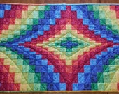 Colorful Bargello Table Runner