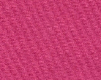 Light Fuchsia 4 Way Stretch 8oz Rayon Spandex Jersey Knit Fabric, 1 Yard