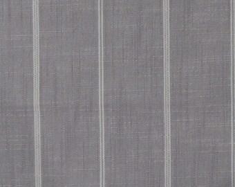 RUSTIC WOVEN silver/gray, cream Stripes multipurpose fabric