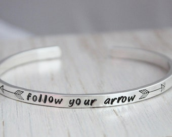 follow your arrow • cuff bracelet
