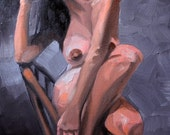 Barbarous Trap Queen, oil on canvas panel, 11 x 14 inches by Kenney Mencher