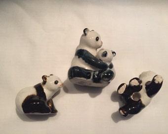 Panda Bears Total of THREE By Gatormom13