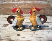 Japan Rooster Salt and Pepper Shakers