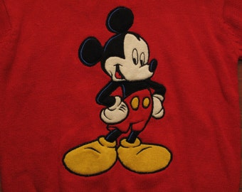 Womens vintage dead stock Mickey Mouse sweater new with tags