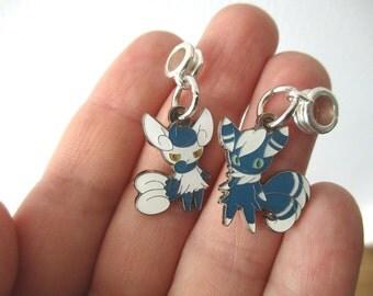 Pokémon MEOWSTIC European Bracelet Charms - Pokémon European Pandora charms