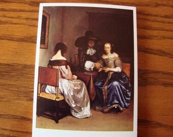 Terborch Postcard