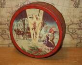 Vintage Deluxe Fruit Cake Tin - item #1359