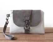 Smartphone Wristlet Wallet - Clutch Purse - Wristlet Clutch - Wristlet Pouch - Small Bag