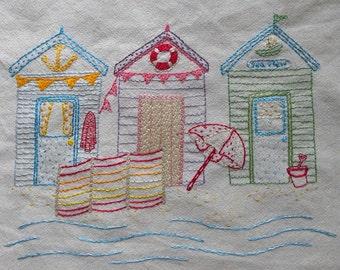 Beside the seaside embroidery pattern pdf