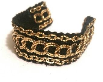 Gold Chain Cuff Bracelet Gypsy Bohemian Jewelry Trending Now Popular Items Sale Jewelry Teen Girls Gift Women