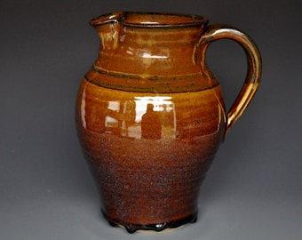 Stoneware Pitcher Ceramic Pitcher Pottery Stoneware Ice Tea Pitcher Pottery Jug Ceramic Jug A