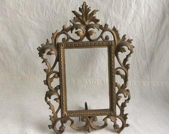 Vintage nouveau frame  ornate frame