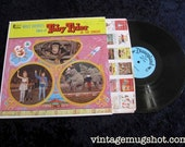 1965 Walt Disney Toby Tyler In The Circus Vintage Vinyl lp Disneyland Records NM- Album    St-1204