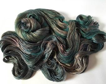 Sea Nymph Silk SeaCell Yarn. Seawashed Night