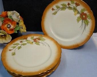 Antique Haviland & Co Limoges Plates  Set of Four