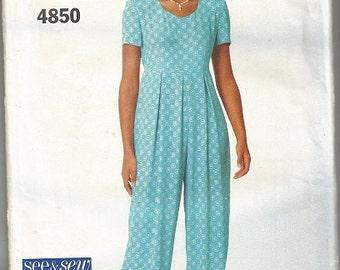 Butterick 4850  See & Sew Pattern SZ 6-10