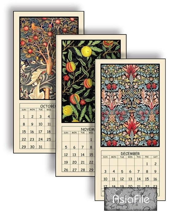 Calendar Design Price : Items similar to half price digital calendar