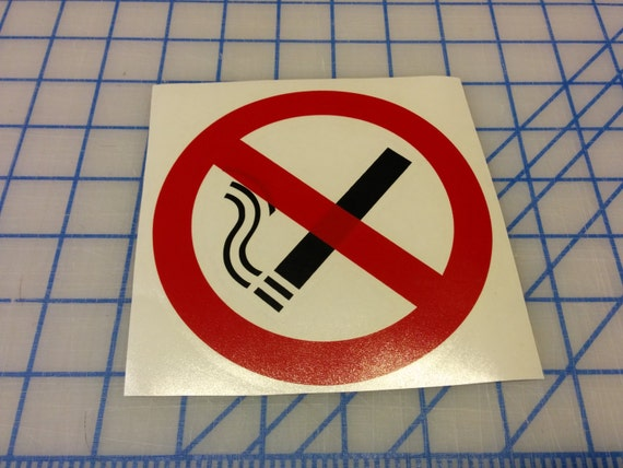 no smoking / anti smoking zone / vinyl sign / decal / social networking / social media