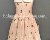The Marilyn Dress - Pineapples