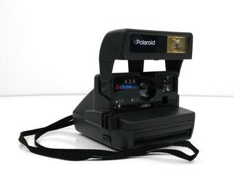 Polaroid 636 CloseUp automatic camera / Tested & working
