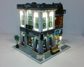 pre-order - ship in August- Light up kits for 10251 Brick Bank - (Model not included)