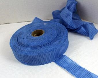 blue ribbon blanket binding craft supply