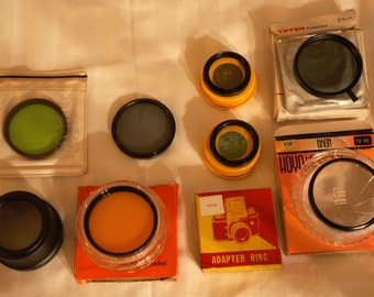 Various Lens Filters of Various Sizes and More