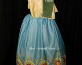 Anna Frozen Fever Costume (Pre-Production)