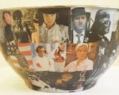 1970s Movie Stars Popcorn Bowl