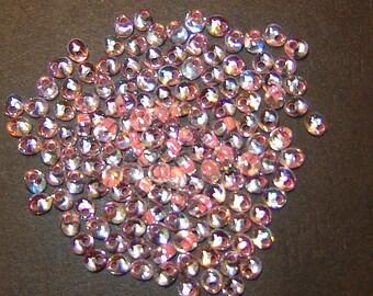 10-25 grams, 4mm Magatama, Miyuki Light SALMON Lined CRYSTAL AB, #2147, drop beads, fringe beads,Kumihimo,Beadweaving, Beading, Jewelry(m17)