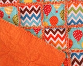 Bright & Whimiscal Baby Rag Quilt