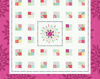 Canyon - Color Burst Quilt Pattern by Coach House Designs