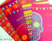 Day of the Dead Wedding Invitations--Special Listing for Kristin