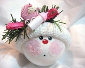 Baby Girl Ornament Baby Buggy Bottle Christmas Townsend Custom Gifts
