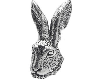 Rabbit Pewter Cufflinks