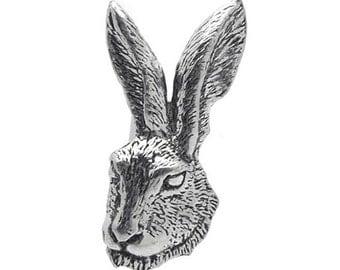 Rabbit Pewter Cufflinks