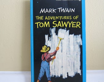 1959 The Adventures of Tom Sawyer By Mark Twain Paperback
