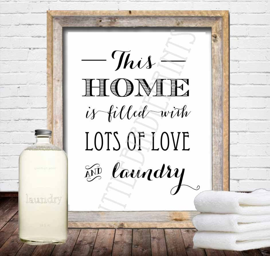 Laundry Room Sign Laundry Room Wall Art Laundry Room
