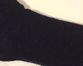 Alpaca Dress Socks - Men's - Navy
