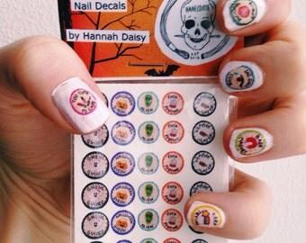 HALLOWEEN Hanecdote/Hannah Daisy nail decals