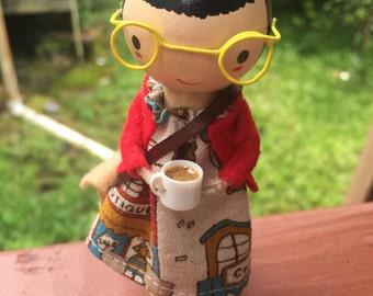 Little Girl Coffee Break