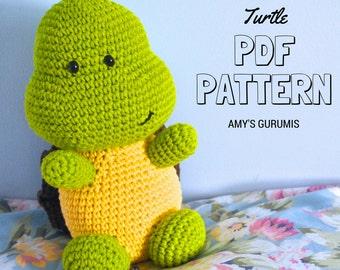 Amigurumi Pattern Turtle