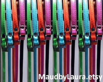 "1/2""inch skinny belt, Brights and many colors available."