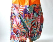 HAREM PANTS, Drop Crotch pants,Jeannie pants,YOGA pants, Gypsy pants, baggy pants, hiphop pants, hippie pants, Aladdin pants, Bohemian pants