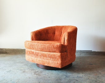 Vintage Mid Century Modern Selig Club Chair